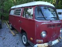 1971 Volkswagen VW Bus Camper Westfalia
