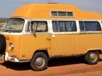 1971 VW Bus Camper Adventurewagen
