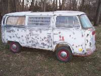 1971 VW Westfalia Camper Bus Project