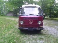 VW 1971 Camper Van Campmobile Westy
