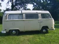 71 Volkswagen Wesfalia bus