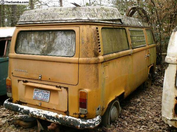 72 Volkswagen Westy Camper Bus
