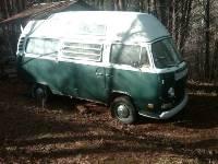 1972 VW Hi Top Bus Camper