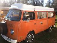1975 VW Bus Westfalia Camper