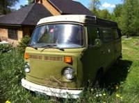 Volkswagen camper bus 1977