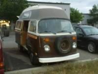 1978 VW Bus Volkswagen Camper