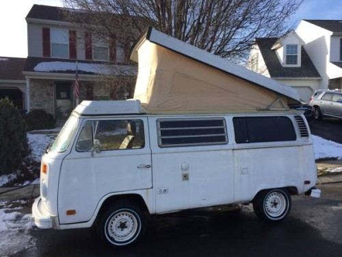 1978 vw bus camper westfalia for sale in marietta pa. Black Bedroom Furniture Sets. Home Design Ideas
