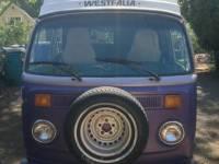 1978 VW Bus Camper