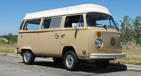 1979 Volkswagen Bus Camper For Sale in Boise, Idaho - $12K.