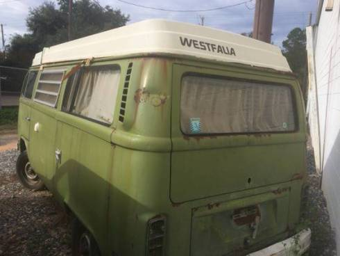1979 Barn Find VW Westfalia Camper For Sale in Shreveport, LA