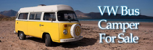 VW Camper Bus For Sale