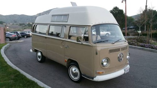 1968 VW Bus Camper Conversion For Sale in Inland Empire, CA