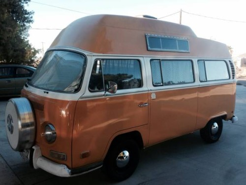 1971 vw bus camper conversion for sale in inland empire ca. Black Bedroom Furniture Sets. Home Design Ideas