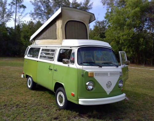 1979 vw bus camper westfalia for sale in pine island fl. Black Bedroom Furniture Sets. Home Design Ideas