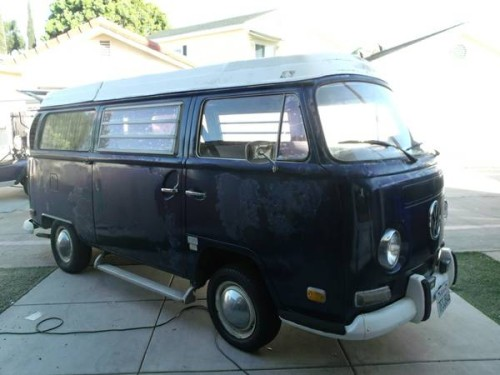 1970 vw bus camper westfalia for sale in coronado ca