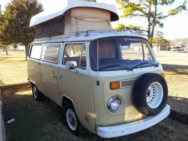1975 vw bus camper conversion for sale in skiatook ok. Black Bedroom Furniture Sets. Home Design Ideas