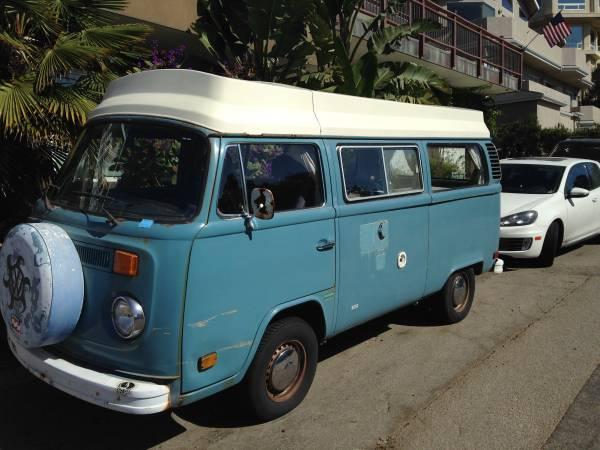 1978 VW Bus Camper For Sale in San Luis Obispo CA