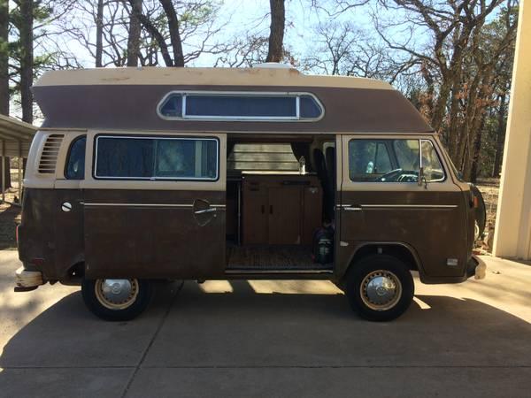 1979 vw bus camper westfalia for sale in northwestern oklahoma. Black Bedroom Furniture Sets. Home Design Ideas