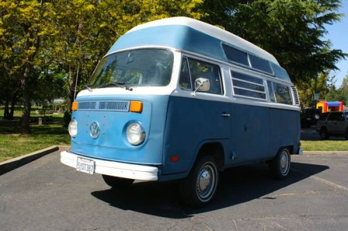 1973 VW Bus Camper High Roof For Sale in Citrus Heights, CA