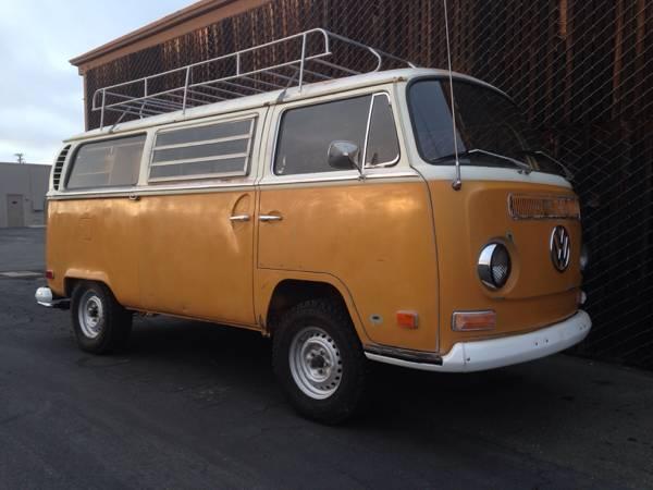 1971 Vw Bus Camper Westfalia For Sale In Huntington Beach Ca