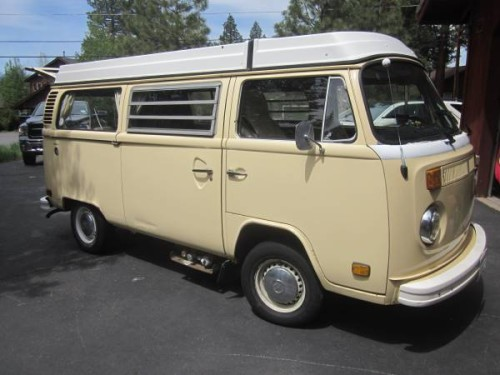 1978 vw bus camper westfalia for sale in truckee ca. Black Bedroom Furniture Sets. Home Design Ideas