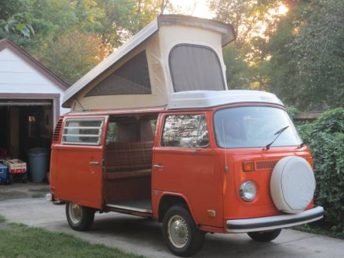 1974 vw bus camper westfalia for sale in catonsville md. Black Bedroom Furniture Sets. Home Design Ideas