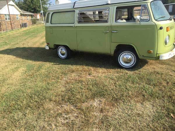 1973 vw bus camper westfalia for sale in lawton ok. Black Bedroom Furniture Sets. Home Design Ideas