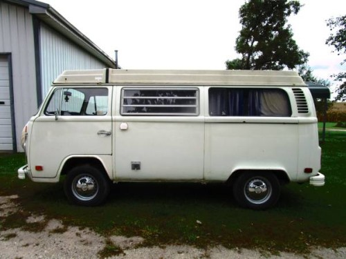 1974 vw bus camper westfalia for sale in woodstock il. Black Bedroom Furniture Sets. Home Design Ideas