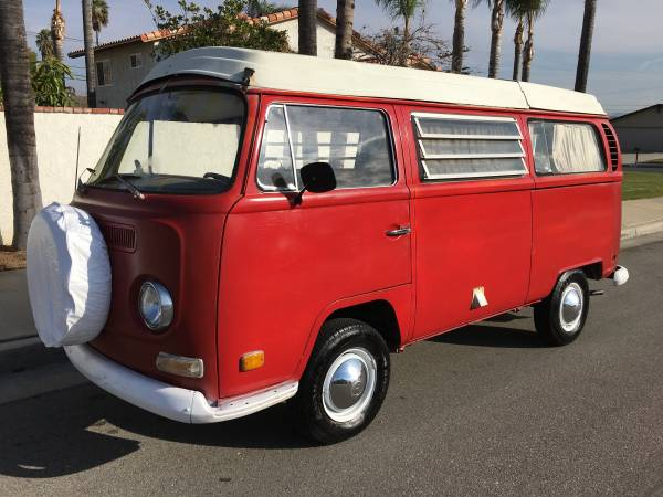 1970 vw bus camper westfalia for sale in los angeles ca. Black Bedroom Furniture Sets. Home Design Ideas