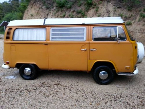 1972 vw bus camper campmobile for sale in la crosse wi. Black Bedroom Furniture Sets. Home Design Ideas