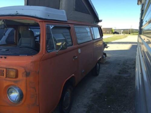 1975 VW Bus Camper Conversion For Sale in Abilene, TX