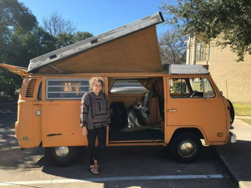 1977 vw bus camper westfalia for sale in dallas tx. Black Bedroom Furniture Sets. Home Design Ideas