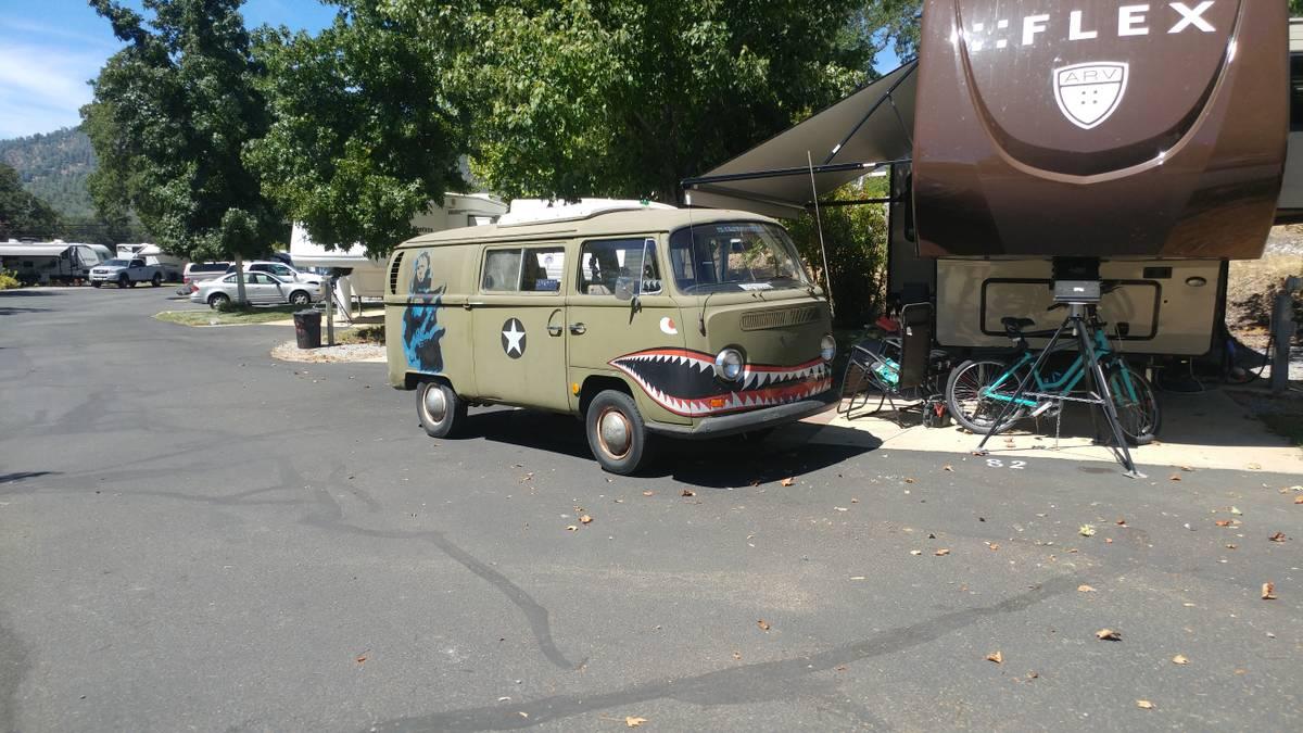 1968 VW Bus Camper Conversion For Sale in Redding CA