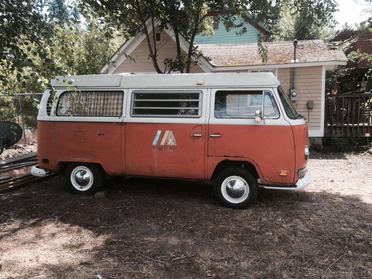 1970 vw bus camper westfalia for sale in spokane wa