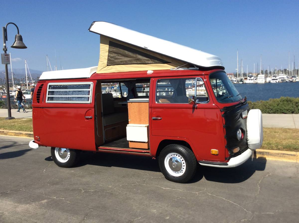 1971 Vw Bus Camper Westfalia For Sale In Ventura County Ca