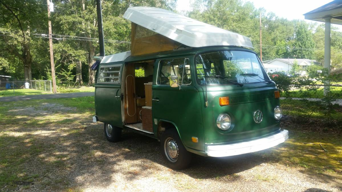 1973 vw bus camper westfalia for sale in picayune ms. Black Bedroom Furniture Sets. Home Design Ideas